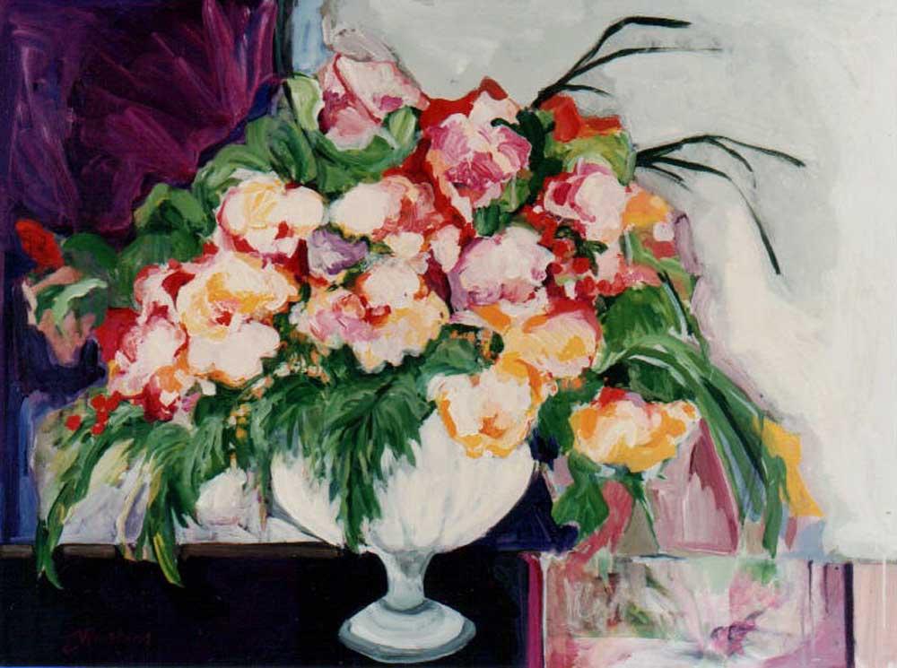 Great Big Bouquet30X40 acrylic on canvas