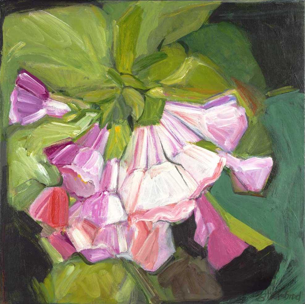 Pink Mertensia 24x24 Acrylic
