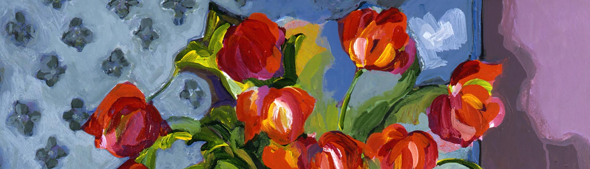 Tulips and a Pear